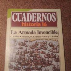 Coleccionismo de Revista Historia 16: CUADERNOS DE HISTORIA 16 LA ARMADA INVENCIBLE Nº 183. Lote 222976230