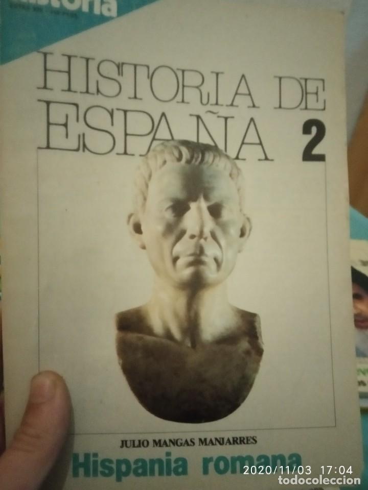 HISTORIA DE ESPAÑA N 2 HISPANIA ROMANA JULIO MANGAS MANJARRES (Coleccionismo - Revistas y Periódicos Modernos (a partir de 1.940) - Revista Historia 16)