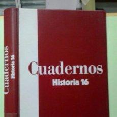 Collectionnisme de Magazine Historia 16: TAPAS PARA CUADERNOS DE HISTORIA 16, CAPACIDAD 10 CUADERNOS. Lote 224196455