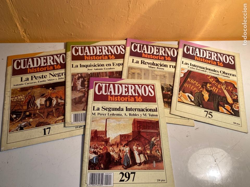 CUADERNOS HISTORIA 16 (Coleccionismo - Revistas y Periódicos Modernos (a partir de 1.940) - Revista Historia 16)
