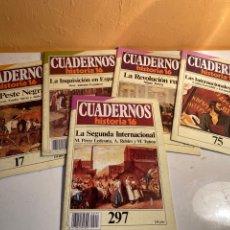 Coleccionismo de Revista Historia 16: CUADERNOS HISTORIA 16. Lote 227652515