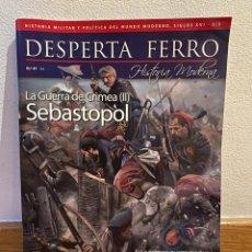 Collectionnisme de Magazine Historia 16: DESPERTA FERRO LA GUERRA DE CRIMEA II SEBASTOPOL NÚMERO 47. Lote 227930210