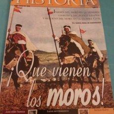Coleccionismo de Revista Historia 16: HISTORIA 16 REVISTA NÚMERO 139 DE 2002 ESPECIAL ¡ QUÉ VIENEN LOS MOROS !. Lote 228257435