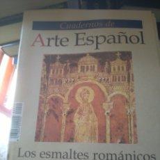 Coleccionismo de Revista Historia 16: CUADERNOS DE ARTE ESPAÑOL Nº 10 - LOS ESMALTES ROMÁNICOS DE SILOS - HISTORIA 16. Lote 262101180