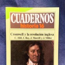 Coleccionismo de Revista Historia 16: CUADERNOS DE ARTE ESPAÑOL Nº 230 CROMWELL Y LA REVOLUCION INGLESA. Lote 232157825