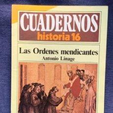 Collectionnisme de Magazine Historia 16: CUADERNOS DE ARTE ESPAÑOL Nº 231 LAS ORDENES MEDICANTES ANTONIO LINAGE. Lote 232158030