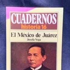 Coleccionismo de Revista Historia 16: CUADERNOS DE ARTE ESPAÑOL Nº 234 EL MEXICO DE JUAREZ JOSEFA VEGA. Lote 232159150