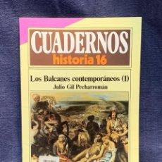 Coleccionismo de Revista Historia 16: CUADERNOS DE ARTE ESPAÑOL Nº 236 LOS BALCANES CONTEMPORANEOS 1 JULIO GIL PECHARROMAN. Lote 232160505