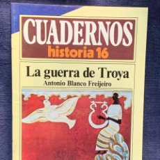 Coleccionismo de Revista Historia 16: CUADERNOS DE ARTE ESPAÑOL Nº 241LA GUERRA DE TROYA ANTONIO BLANCO FREIJEIRO. Lote 232162795