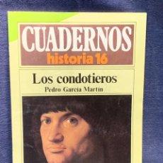 Coleccionismo de Revista Historia 16: CUADERNOS DE ARTE ESPAÑOL Nº 242 LOS CONDOTIEROS PEDRO GARCIA MARTIN. Lote 232163085