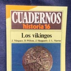 Coleccionismo de Revista Historia 16: CUADERNOS DE ARTE ESPAÑOL Nº 246 LOS VIKINGOS. Lote 232164815