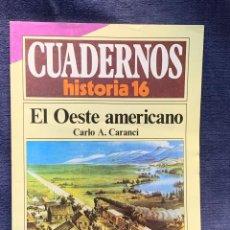 Collectionnisme de Magazine Historia 16: CUADERNOS DE ARTE ESPAÑOL Nº 251 EL OESTE AMERICANO CARLO A.CARANCI. Lote 232166165