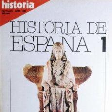 Collectionnisme de Magazine Historia 16: HISTORIA 16 : HISTORIA DE ESPAÑA, NÚM. 1 (ABRIL, 1980). EN PORT.: LA ESPAÑA ANTIGUA : DE ALTAMIRA ... Lote 232629205
