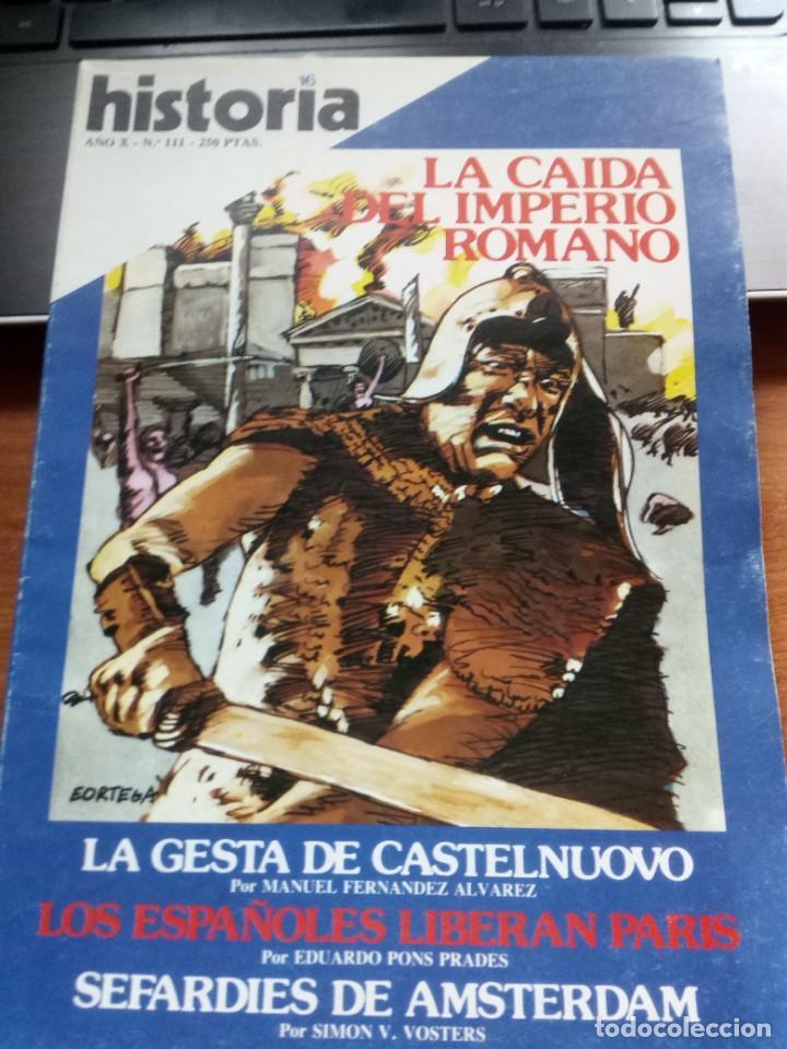 HISTORIA 16,N º 111 (Coleccionismo - Revistas y Periódicos Modernos (a partir de 1.940) - Revista Historia 16)