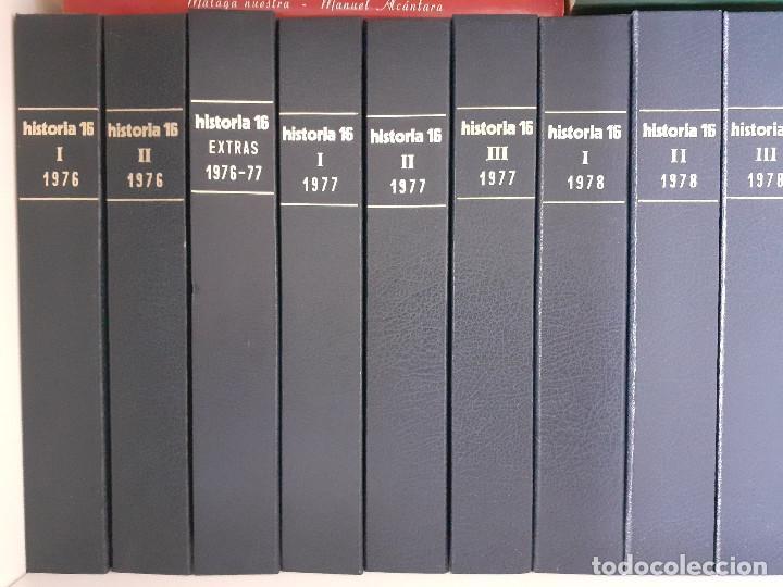COLECCIÓN COMPLETA HISTORIA 16 MAS EXTRAS Y OTRAS (Coleccionismo - Revistas y Periódicos Modernos (a partir de 1.940) - Revista Historia 16)