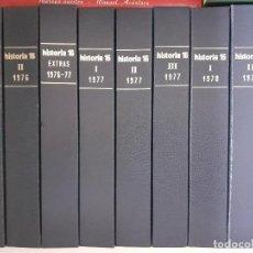 Coleccionismo de Revista Historia 16: COLECCIÓN COMPLETA HISTORIA 16 MAS EXTRAS Y OTRAS. Lote 236764415
