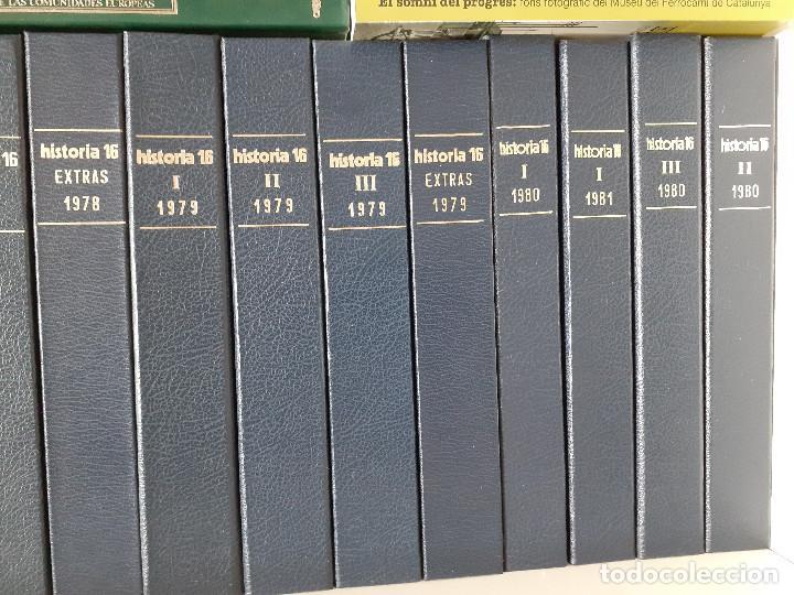 Coleccionismo de Revista Historia 16: Colección completa HISTORIA 16 mas extras y otras - Foto 2 - 236764415