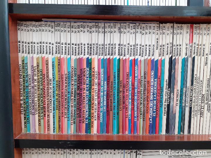 Coleccionismo de Revista Historia 16: Colección completa HISTORIA 16 mas extras y otras - Foto 3 - 236764415