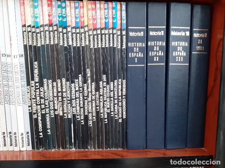Coleccionismo de Revista Historia 16: Colección completa HISTORIA 16 mas extras y otras - Foto 10 - 236764415