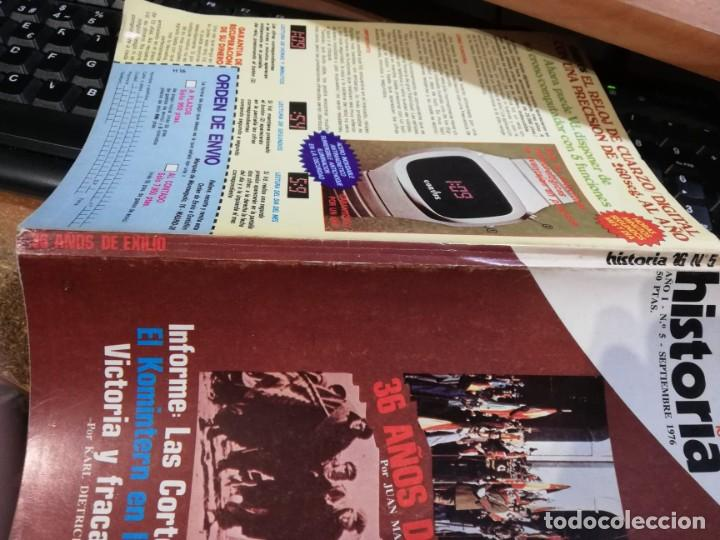 Coleccionismo de Revista Historia 16: HISTORIA 16 Nº 5 - 36 AÑOS DE EXILIO - JUAN MARICHAL - Foto 3 - 237307185