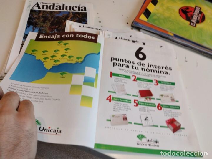 Coleccionismo de Revista Historia 16: M-7 OJO SOLO PORTADAS SIN EL FASCICULO DE DIARIO 16 HISTORIA DE ANDALUCIA LOTE MAS DE 80 - Foto 4 - 238025925