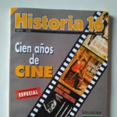 Coleccionismo de Revista Historia 16: CIEN AÑOS DE CINE. ESPECIAL HISTORIA 16, AÑO XX, NÚMERO 234. OCTUBRE 1995. Lote 239703960