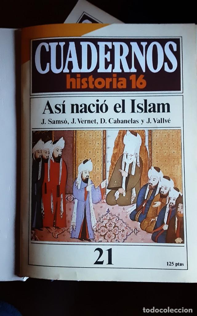 Coleccionismo de Revista Historia 16: Tomo nr.3 - Cuadernos de Historia 16 - Incluye los nrs. 21 al 30 - Foto 3 - 194964006