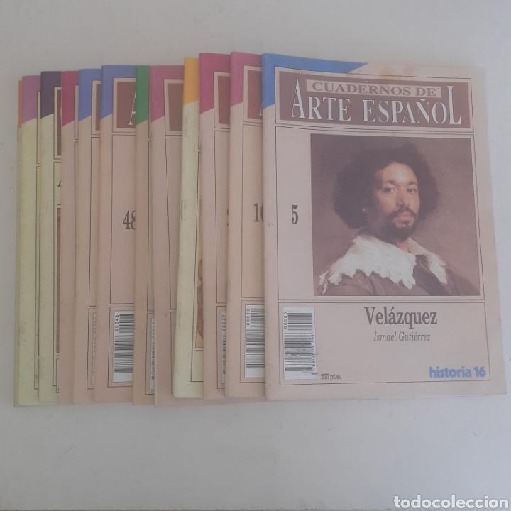 13 CUADERNOS DE ARTE DE HISTORIA 16. TODOS FOTOGRAFIADOS. BUEN ESTADO. (Coleccionismo - Revistas y Periódicos Modernos (a partir de 1.940) - Revista Historia 16)