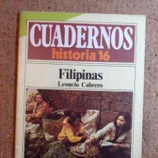 Coleccionismo de Revista Historia 16: CUADERNOS DE HISTORIA 16 FILIPINAS Nº 156. Lote 242259325