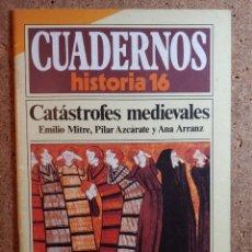 Coleccionismo de Revista Historia 16: CUADERNOS DE HISTORIA 16 CATÁSTROFES MEDIEVALES Nº 120. Lote 242259920
