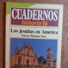 Coleccionismo de Revista Historia 16: CUADERNOS DE HISTORIA 16 LOS JESUITAS EN AMERICA Nº 153. Lote 242260395