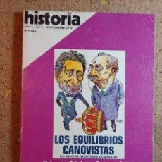 Coleccionismo de Revista Historia 16: HISTORIA 16 DEL AÑO I Nº 7. Lote 242264970