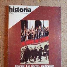 Coleccionismo de Revista Historia 16: HISTORIA 16 DEL AÑO I Nº 5. Lote 242265440