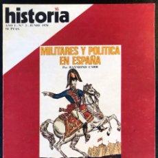 Coleccionismo de Revista Historia 16: REVISTA HISTORIA 16 - AÑO I - Nº2 - JUNIO 1976 - MILITARES Y POLÍTICA EN ESPAÑA - CAMINO DE SANTIAGO. Lote 245879850