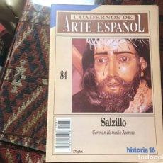 Coleccionismo de Revista Historia 16: SALZILLO. GERMÁN RAMALLO. CUADERNOS DE ARTE ESPAÑOL 84. Lote 246027120