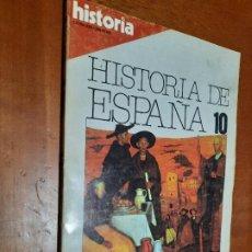 Coleccionismo de Revista Historia 16: HISTORIA DE ESPAÑA 10. HISTORIA 16. REVISTA. BUEN ESTADO.. Lote 246317390