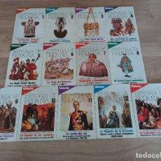 Coleccionismo de Revista Historia 16: HISTORIA 16 , COLECCIONABLE HISTORIA DE ESPAÑA COMPLETO LOS 13 TOMOS. Lote 251468100
