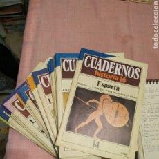 Coleccionismo de Revista Historia 16: CUADERNOS HISTORIA 16. 39 UNIDADES. Lote 252857790