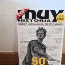 Coleccionismo de Revista Historia 16: MUY HISTORIA GRANDES HISTORIAS PARA LEER EN 15 MINUTOS. Lote 254937300