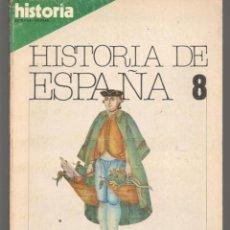 Colecionismo da Revista Historia 16: HISTORIA 16. HISTORIA DE ESPAÑA 8. EL REFORMISMO BORBÓNICO. LA ESPAÑA DEL SIGLO XVIII.(T/15). Lote 255532960