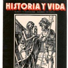 Coleccionismo de Revista Historia 16: HISTORIA Y VIDA. Nº 174. LA MUERTE NEGRA. SEPTIEMBRE 1982.(T/15). Lote 255919690