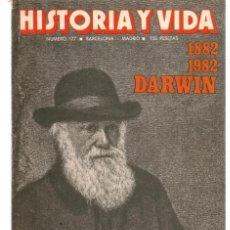 Coleccionismo de Revista Historia 16: HISTORIA Y VIDA. Nº 177. DARWIN. DICIEMBRE 1982.(T/15). Lote 255919965