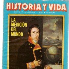 Coleccionismo de Revista Historia 16: HISTORIA Y VIDA. Nº 179. LA MEDICIÓN DELMUNDO. FEBRERO, 1983. (T/15). Lote 255920100