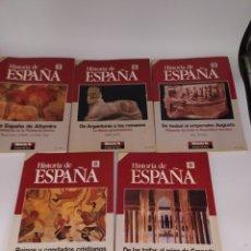 Coleccionismo de Revista Historia 16: HISTORIA DE ESPAÑA. HISTORIA 16. NÚMEROS 1,2,3,8,Y, 9. Lote 258499855