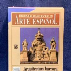 Collectionnisme de Magazine Historia 16: CUADERNOS DE ARTE ESPAÑOL Nº56 ARQUITECTURA BARROCA CORTESANA HISTORIA 16 24X17CMS. Lote 258928200