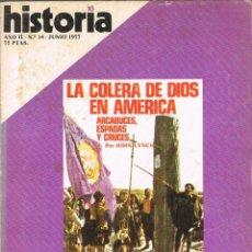 Coleccionismo de Revista Historia 16: HISTORIA 16 Nº 7, LOS EQUILIBRIOS CANOVISTAS, LA REVOLUCIÓN SOVIETICA, TITUBEOS AUTONOMI, VER INDICE. Lote 260404195