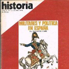 Coleccionismo de Revista Historia 16: HISTORIA 16 Nº 2, EL CAMINO DE SANTIAGO, LA REVOLUCIKÓN INGLESA, VER INDICE. Lote 260405870