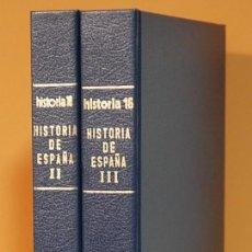 Coleccionismo de Revista Historia 16: REVISTA HISTORIA16. HISTORIA DE ESPAÑA. NUMEROS 9, 10, 11, 12, 13 EN UN SOLO VOLUMEN. Lote 260515670