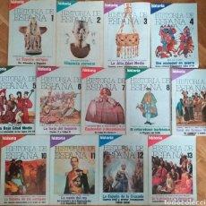 Coleccionismo de Revista Historia 16: HISTORIA 16 - REVISTA HISTORIA DE ESPAÑA DEL 1 AL 13.. Lote 261989990