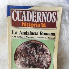 Coleccionismo de Revista Historia 16: CUADERNOS HISTORIA 16- NUMERO 189- LA ANDALUCÍA ROMANA. Lote 262902375